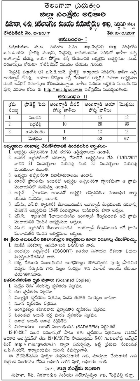 Icds Application Form Pdf